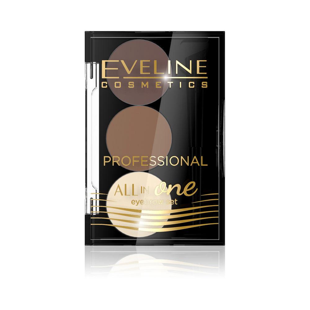 Набор для бровей Eveline All in one Professional , 02 набор для бровей eveline all in one professional 02