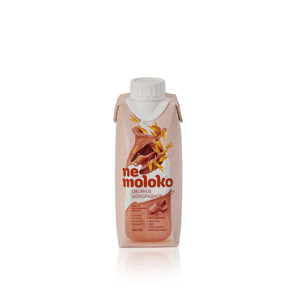 Овсяный напиток Ne Moloko  Шоколадное  250мл овсяный напиток ne moloko ванильный десерт 250мл