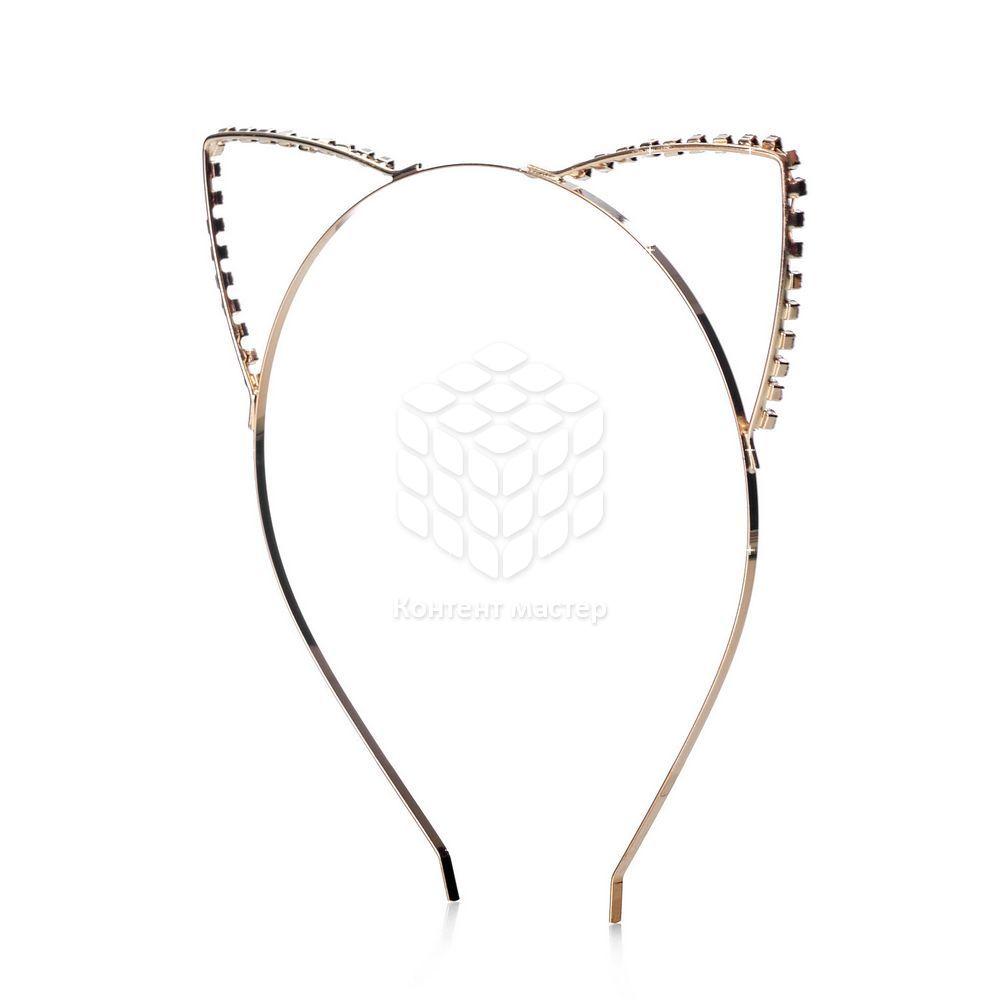 Фото - Ободок Ameli для волос  Уши  повязка для волос ameli сверкающая
