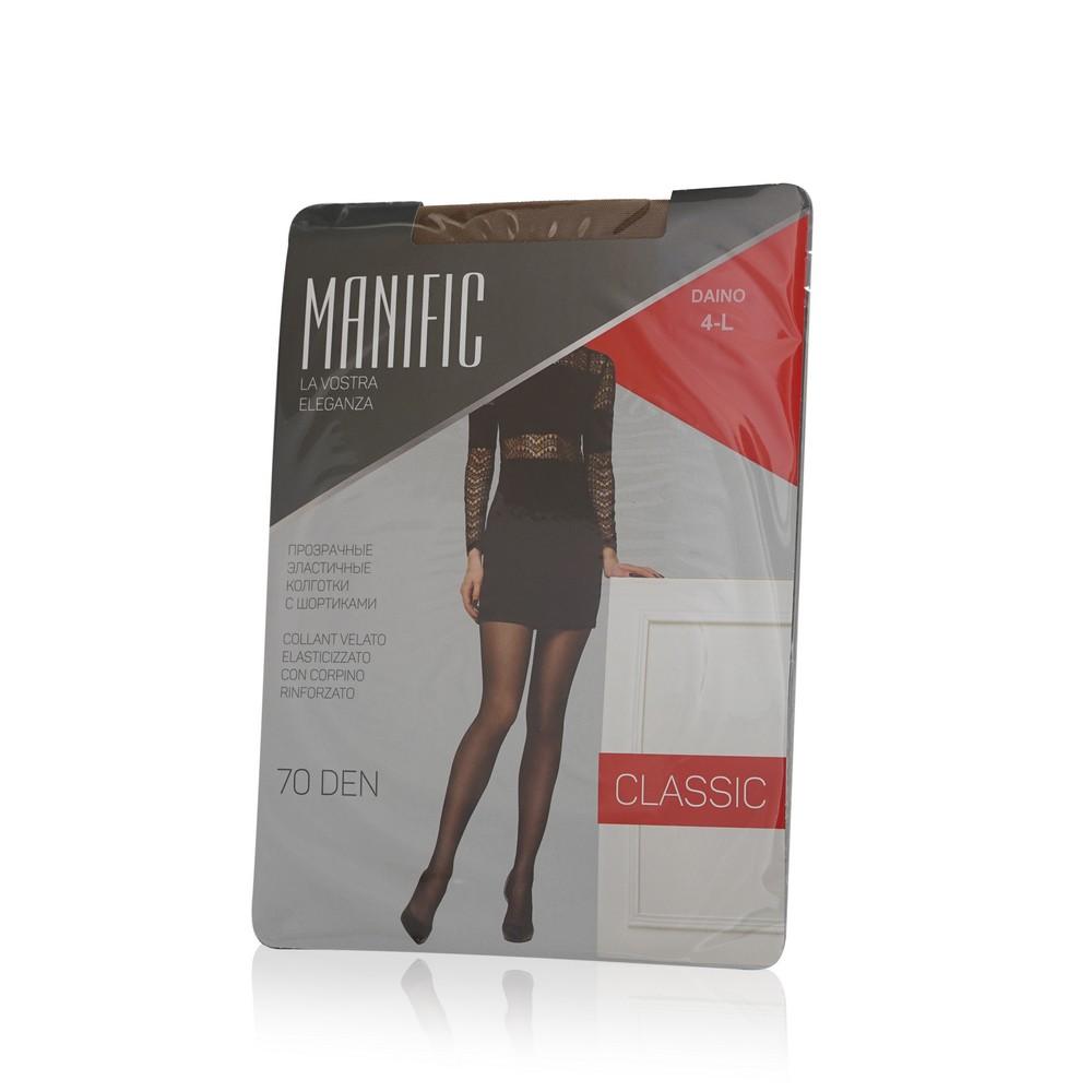 Женские колготки Manific Classic 70den Daino 4 размер колготки allure vista 20 цвет glase бронза размер 4
