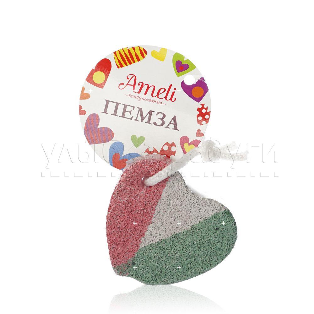 Педикюрная пемза - сердечко Ameli