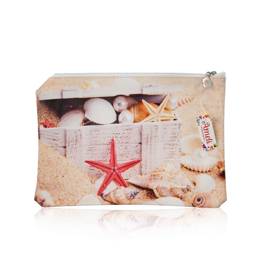 Фото - Косметичка - конверт Ameli дизайн косметичка конверт ameli со звездой