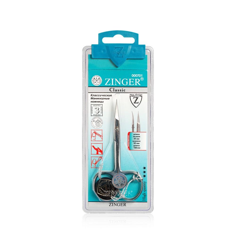Маникюрные ножницы Zinger для кутикулы B-131 маникюрные ножницы zinger beauty for you b ц131 s 22870 8