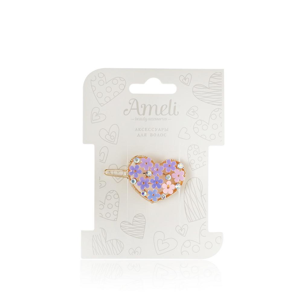 Зажим для волос Ameli с цветочками ваза плетенка с цветочками marquis