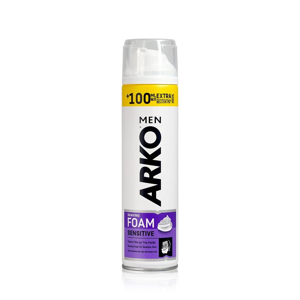Пена для бритья Arko sensitive 300мл
