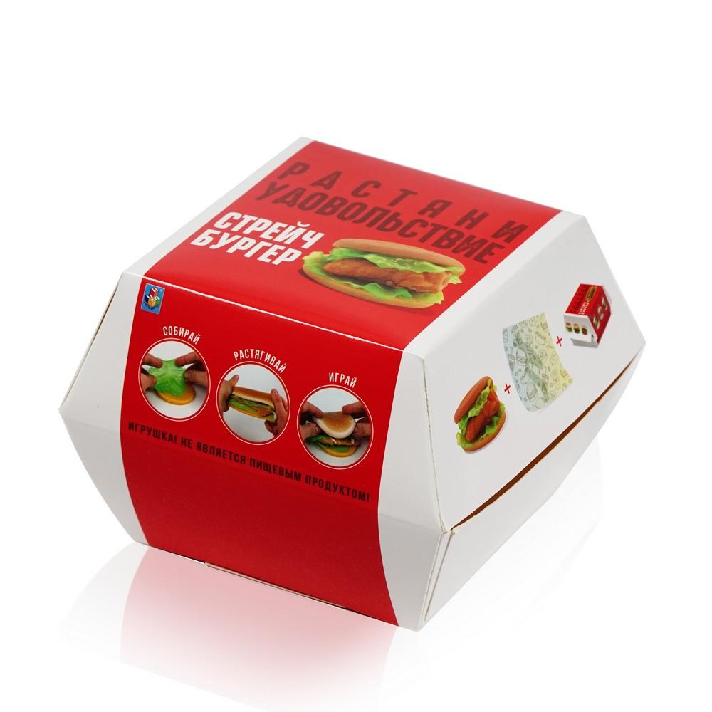 Фото - Лизун - жмяка 1 Toy Мелкие пакости  Стрейчбургер  развивающие игрушки 1 toy мелкие пакости лизун шлепок нога