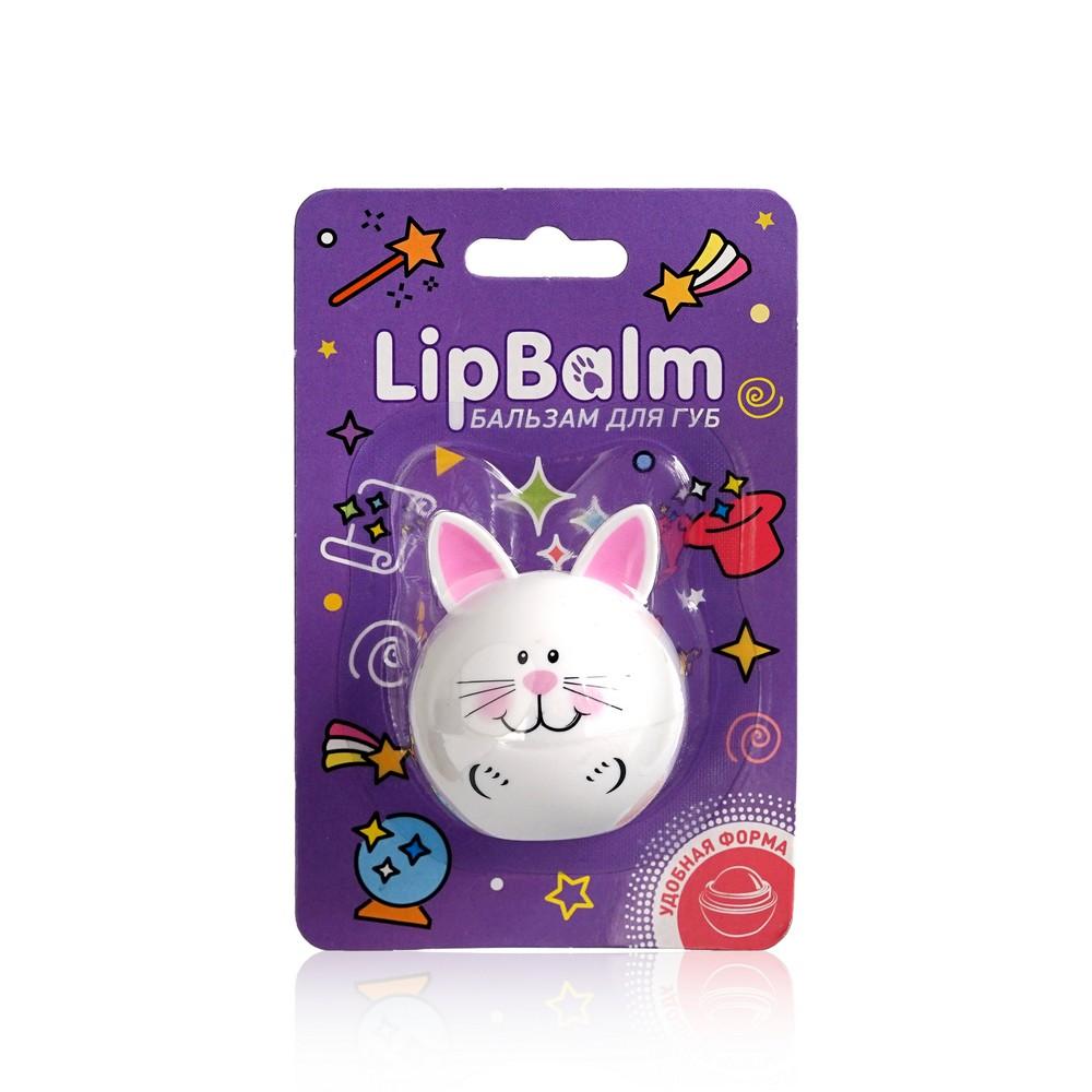 Бальзам для губ Lip Balm  Заяц  с ароматом зефира 6,5г бальзам для губ lip balm заяц с ароматом зефира 6 5г