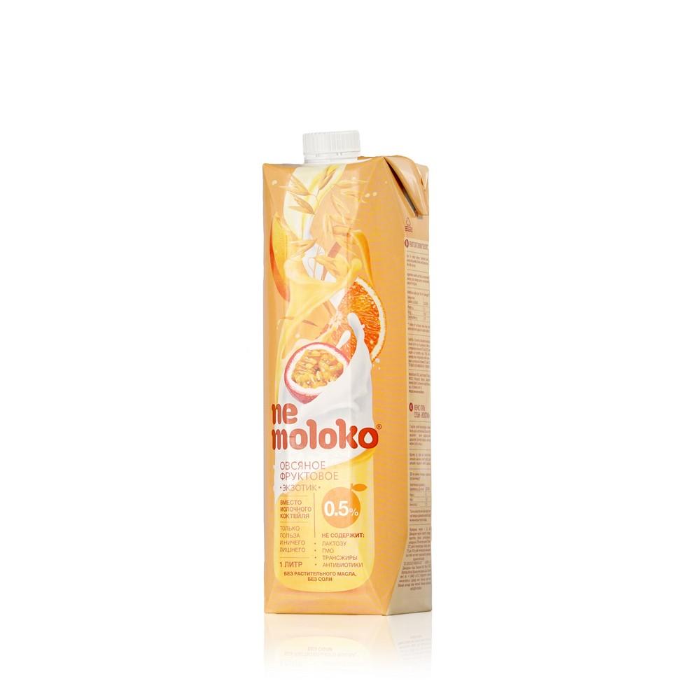 Овсяный напиток Ne Moloko  Фруктовый  0,5% Экзотик 1л овсяный напиток ne moloko ванильный десерт 250мл