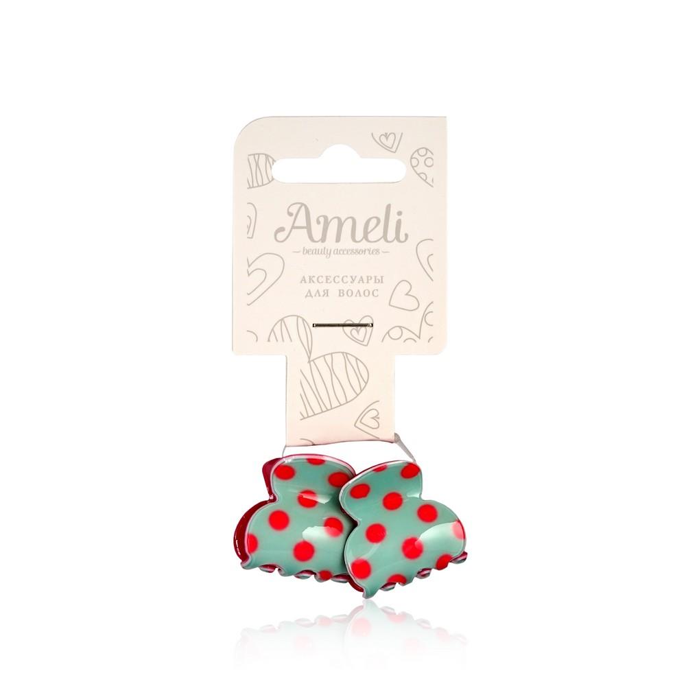 Заколки - краб Ameli для волос 2см 2шт недорого
