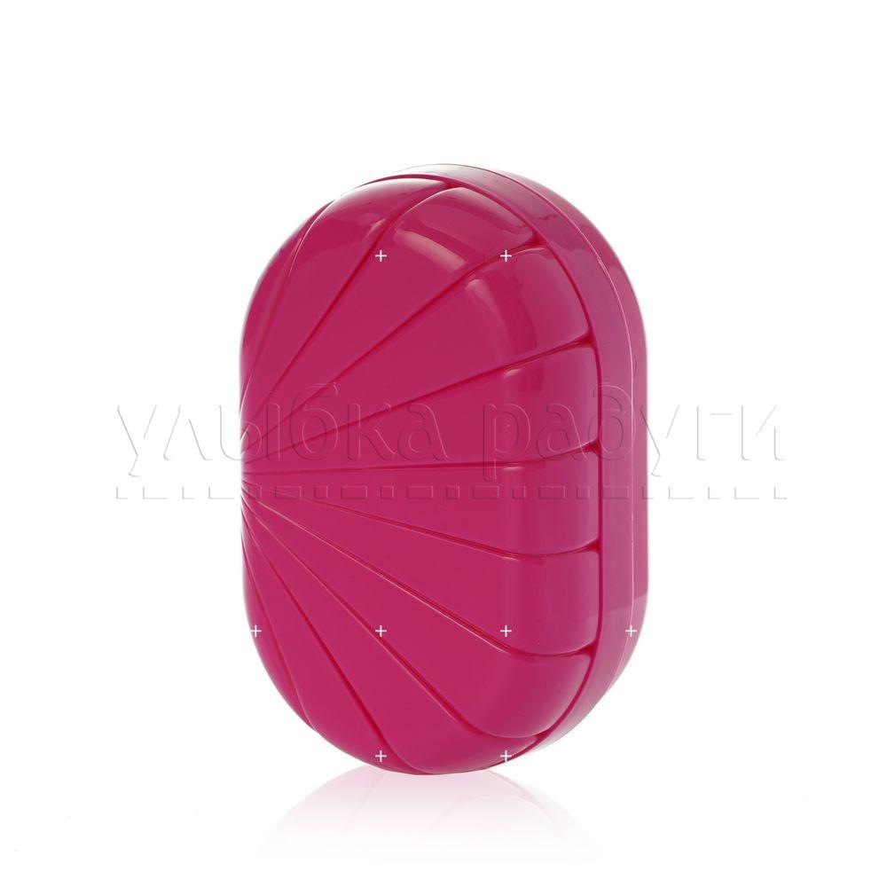 Мыльница Полимербыт дорожная мыльница brillar pink